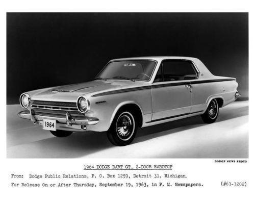 1964 Dodge Dart Gt Ebay