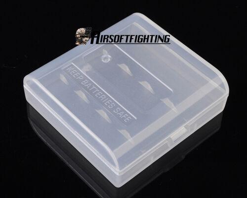 Soshine AAA Battery Case Box Holder Storage for 1-4pcs SureFire AAA batteries A