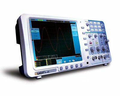 Owon Sds7102v 100mhz Oscilloscope 1gs 8 Lan Vga Firmware Upgrade Batterybag