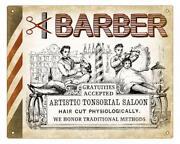 Vintage Barber Sign