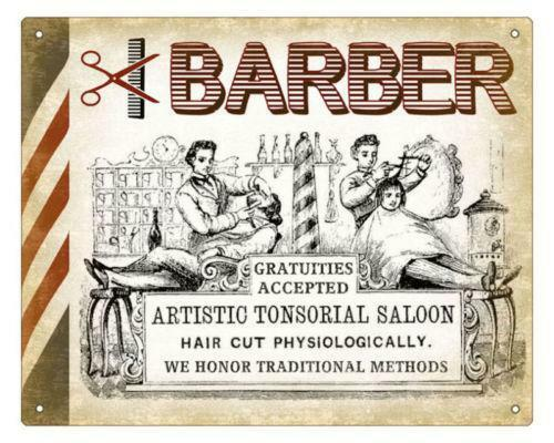 Vintage Barber Sign Ebay