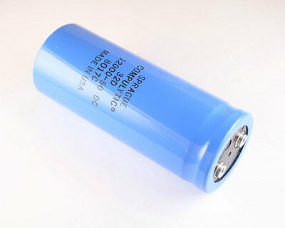 1x 12000uf 50v Large Can Electrolytic Capacitor Volts Dc 50vdc 12000mfd 12000