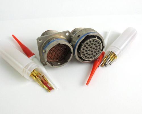 Mil spec bulkhead connectors ebay