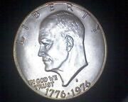 1776-1976 Silver Dollar
