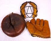 Vintage Catchers Mask