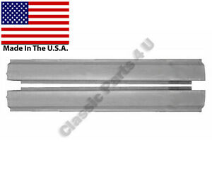 ... ROCKER PANELS CHEVY II NOVA 1962 63 64 65 66 67 2DOOR NEW PAIR