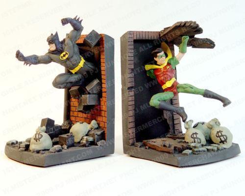 Batman Bookends Figurines Ebay