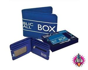 NEW OFFICIAL DOCTOR DR WHO TARDIS RETRO WALLET 50TH ANNIVERSARY GIFT BOXED