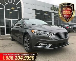 2017 Ford Fusion SE| AWD| Low KM| CD Player| Remote Start