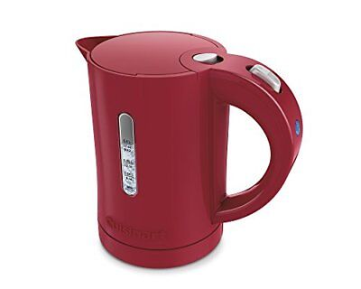 Cuisinart CK-5R Quickettle Compact Plastic Perp Kettle Red