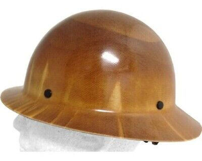 Msa Skullgard Full Brim Hard Hat With Fastrac Iii Suspension - Natural Tan