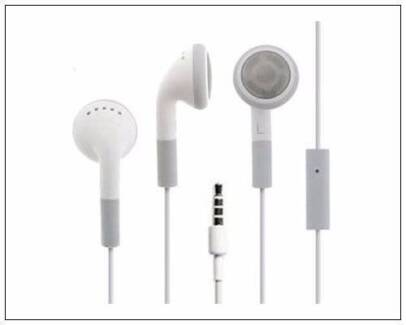 Headphone Earphone with MIC for Apple iPhone iPod iPad -Bulk Sale