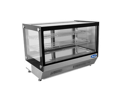 Atosa Crds-42 27.6 Refrigerated Countertop Display Merchandiser Glass Case