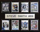 Steve Smith NFL Plaques
