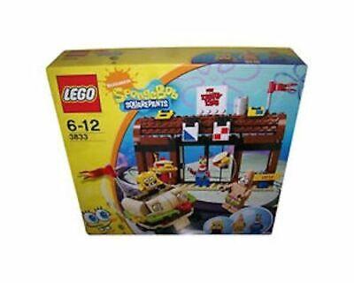 New Lego 3833 Sponge Bob SquarePants Krusty Krab Adentures A1