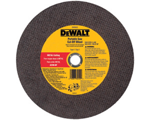 DEWALT 14 X1/8 X 20 MM   CUT OFF BLADES