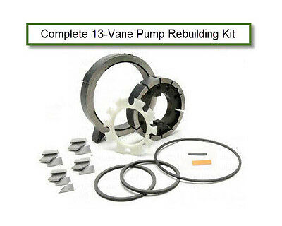 13 VANE TRANSMISSION PUMP KIT 2004R 700R4 4L60E 4L65E Slide Rotor Vanes (99901) for sale  Shipping to Canada
