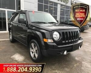 2017 Jeep Patriot High Altitude| Leather| Sunroof| Low KM
