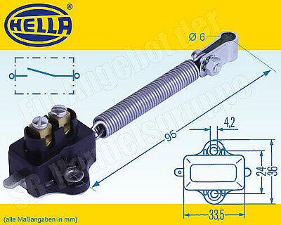 Hella Bremszugschalter Zugschalter 12V 7A mit Schliesser Kontakt 6DD 001 551-001