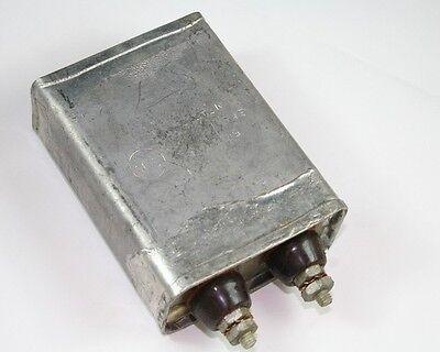 1x 2mfd 1500vdc Hermetically Sealed Oil Capacitor 2uf 1500v 1500 Volts Dc