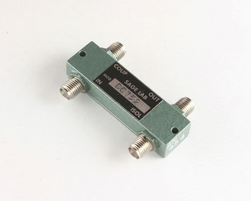 1x DC-752 Miniature Octave Band 3dB Quadrature Attenuator Co-Axial Adapter