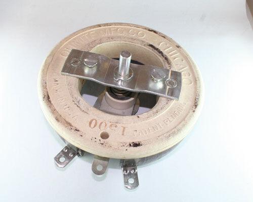 1500 ohms 300Watt Ohmite Single Turn Rheostat Wirewound Resistor 300W 1500Ohm