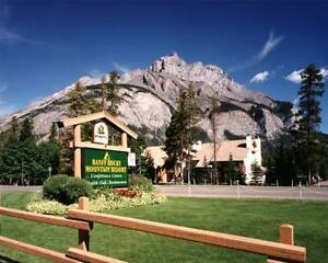 Banff Rocky Mountain Resort April 9-16 (Easter!), 2017
