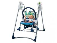 Fisher Price Smart Stages - 3 in 1 Rocker Baby Swing