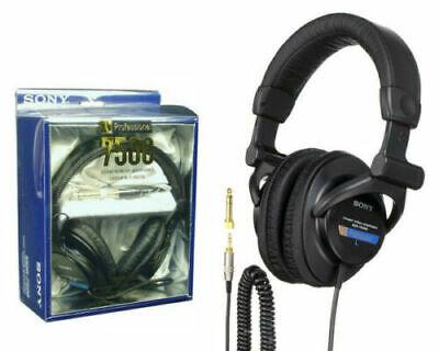 NEW MDR-7506 Professional Closed-Ear Back Large Dynamic Studio Audio Headphones
