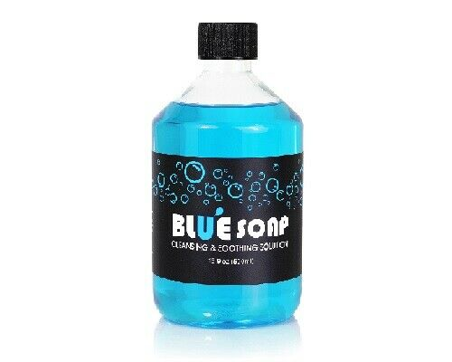 как выглядит BLUE SOAP Cleansing Soothing Solution 16oz Clean Skin Relieve Ink Tattoo Supply фото