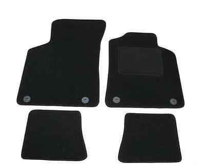 Audi TT MK1 1999 2006 Fully Tailored Car Mats in Black