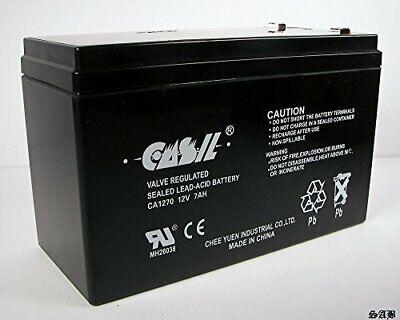 Casil 12V 7Ah Rechargeable SLA Sealed Lead Acid Battery F1 T