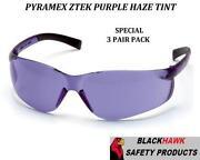 Purple Safety Glasses