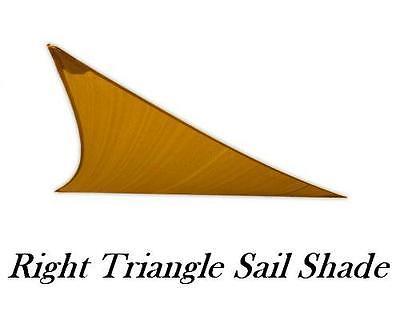 San Diego Sun Sail Shades - Right Triangle (Sandy Beach) ()