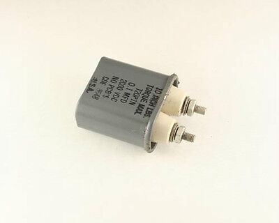 New Cde T20p1n 0.1uf 2000vdc High Voltage Oil Capacitor Porcelain Terminals
