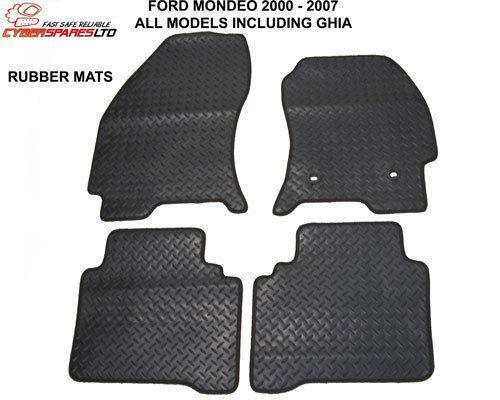 Ford Mondeo Rubber Car Mats Ebay
