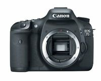 Canon EOS 7D Body + Canon 430EX II Flash + Box and accessories