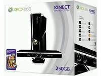 Xbox 360s 250gb Kinect wireless wheel games