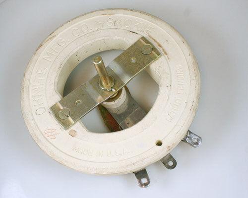 1x 16 Ohm 500W Rheostat Wirewound Resistor Potentiometer 500 Watt 16ohm Ohms