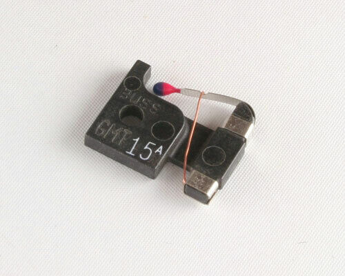 25pcs GMT-15 Fast-Acting Indicating Telecom Fuse 15A Amp Bussmann 481015 GMT-15A