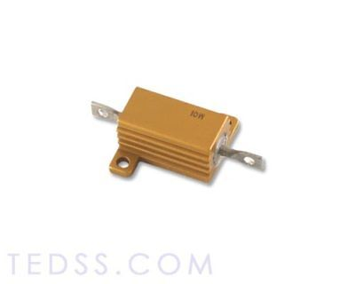 Lot Of Two Re65gr562c02 Vishay Resistor 0.562 Ohm 10w 1 Aluminum Housed
