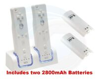 Dual control charger, NEW with rechargeable batteries included