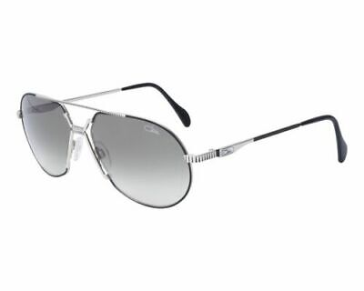 Cazal Sonnenbrille 968 - Black Silver Green Gradient Kult Sonnenbrille Al Pacino