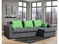 Corner sofa bed -IN STOCK ..Brand New