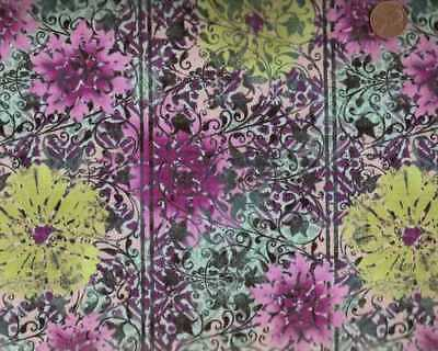 - Eclectic Garden Jason Yenter ITB large flowers floral fabric