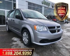 2016 Dodge Grand Caravan Canada Value Package| Low KM| Cloth| Re