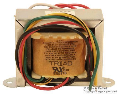 New Brand No.18M9252 Triad Magnetics N68X Isolation Transformer