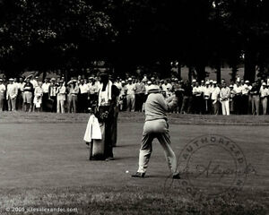 BEN HOGAN AT WINGED FOOT G.C. US OPEN LIMITED PRINT