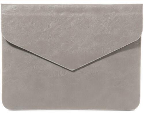 Ladies Faux Leather Large Classic Envelop Clutch