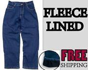 Mens Fleece Lined Jeans